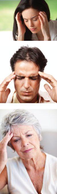 Glavobol in bolečine