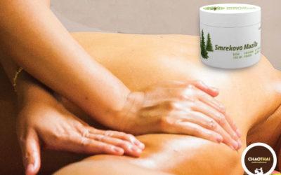 Tajska masaža s smrekovim mazilom